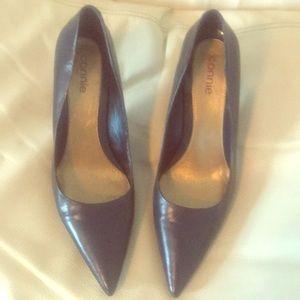 Connie Navy Heels